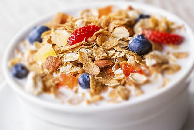 cereal con moras