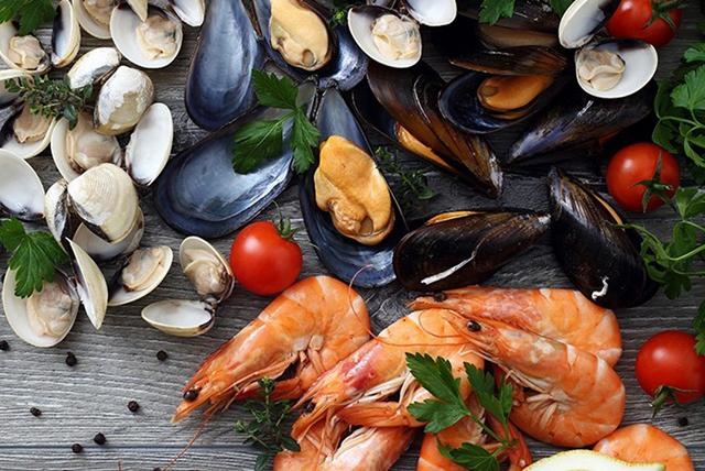 comidas a evitar durante el embarazo (mariscos)